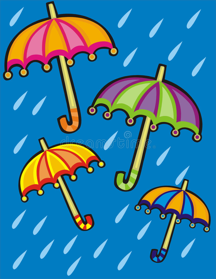 Download Umbrella stock illustration. Image of sunny, flying, protection - 509149