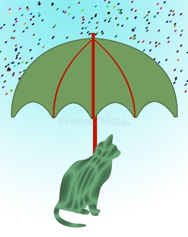 Download Umbrella stock illustration. Image of modeled, safety - 7338073