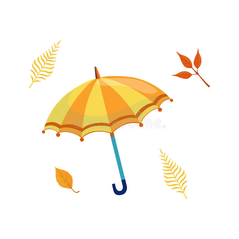 Free Umbrella As Autumn Attribute Royalty Free Stock Photography - 78321397