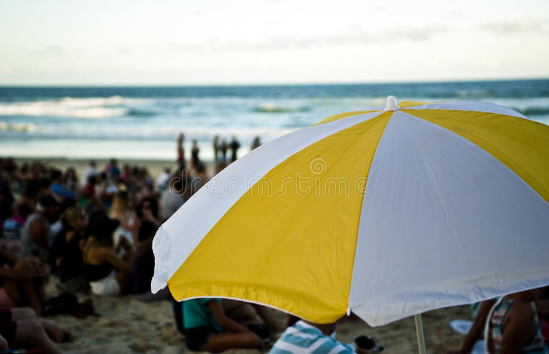 Download Umbrella at beach festival stock image. Image of travel - 39509305