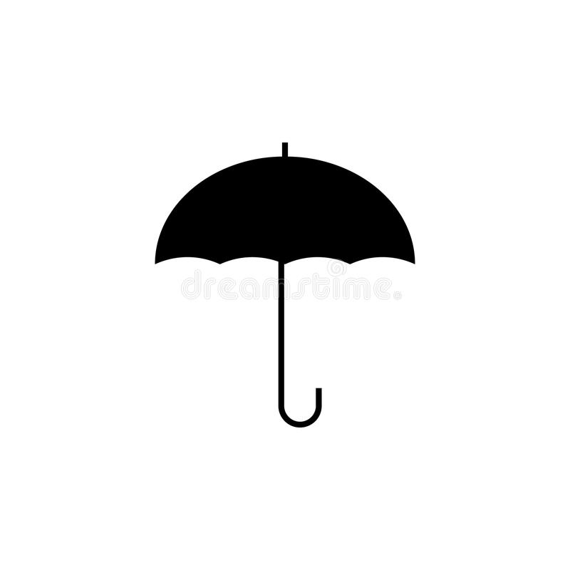 Umbrella icon. Element of weather icon. Premium quality graphic design. Signs and symbols collection icon for websites, web design. Mobile app on white royalty free illustration