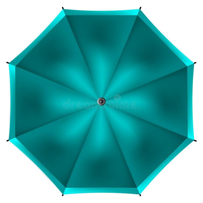 Umbrella isolated on white background stock illustration