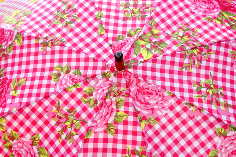 Download Umbrella Parasol Gingham Pattern Stock Photography - Image: 32075492
