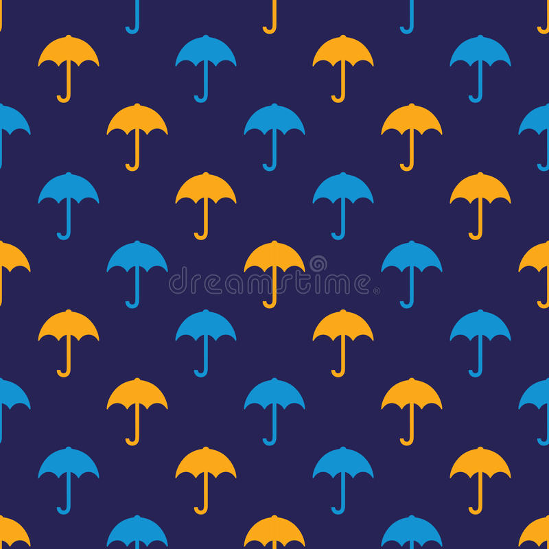 Umbrella pattern vector illustration