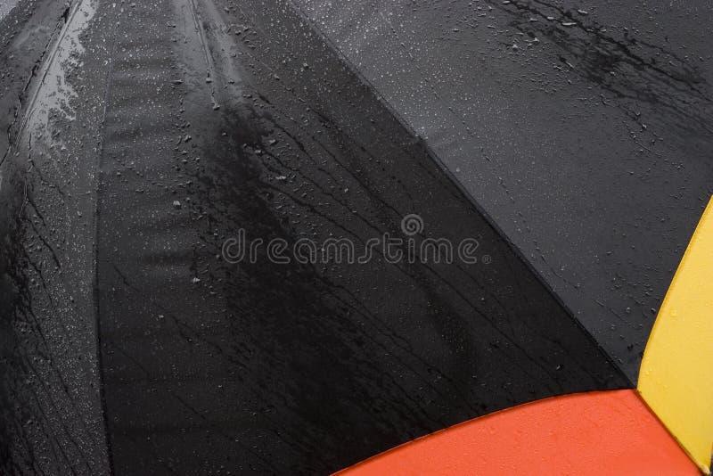 Download Umbrella in the rain stock image. Image of umbrella, dirty - 2187353