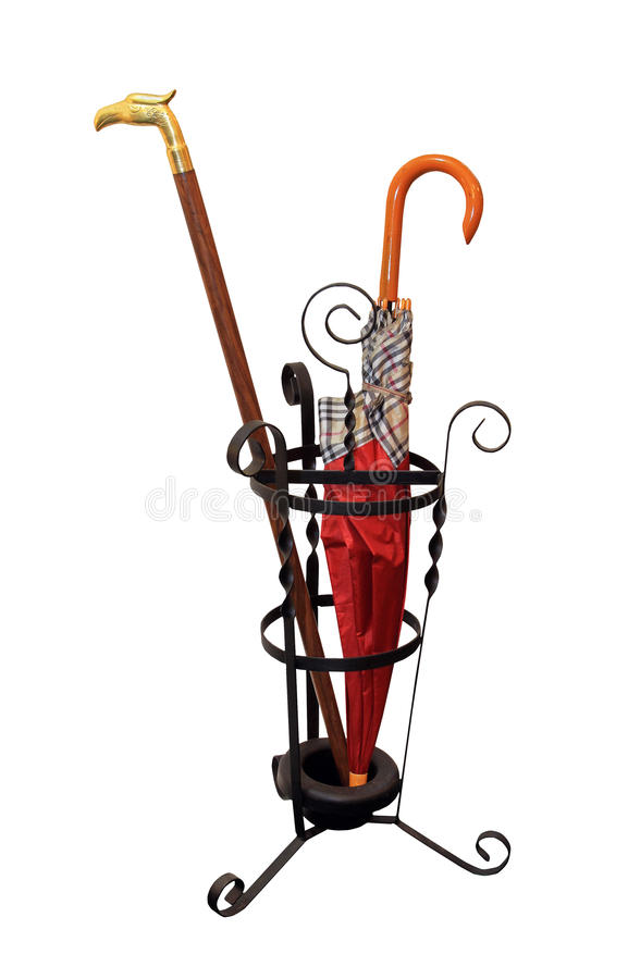 Download Umbrella stand stock image. Image of black, stand, metal - 27422209
