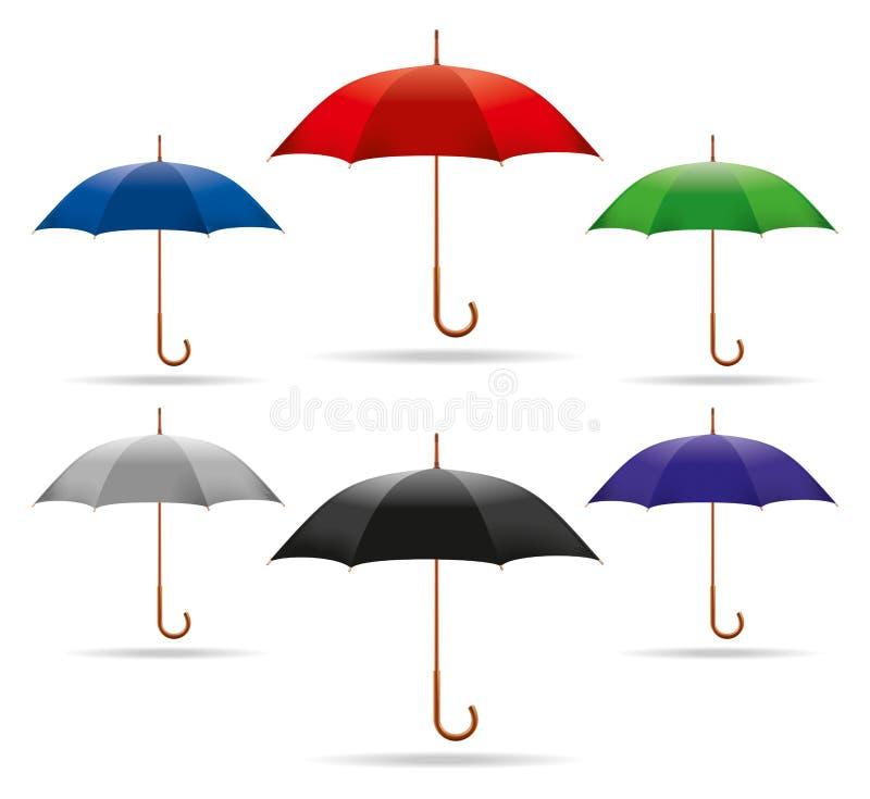 Download Umbrella stock vector. Image of blue, icon, parasol, patronise - 31125658