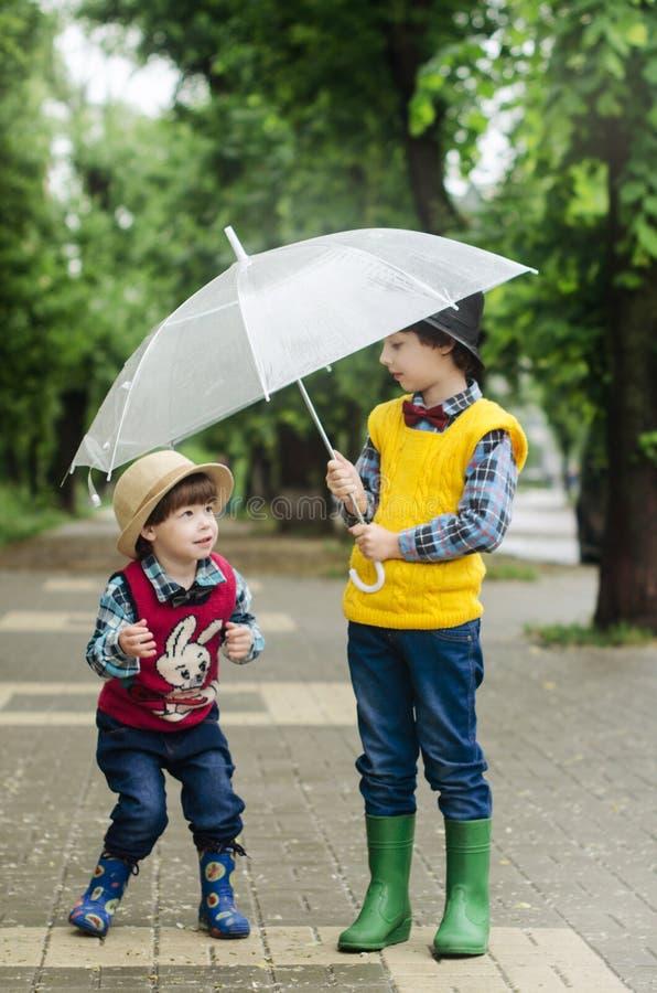 Umbrella, Yellow, Fashion Accessory, Child stock photo
