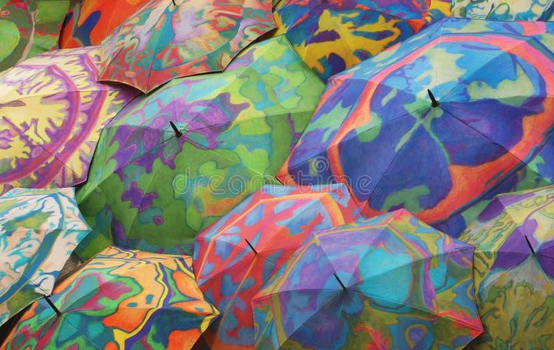 Download Umbrellas stock image. Image of orange, opened, splashy - 13287707