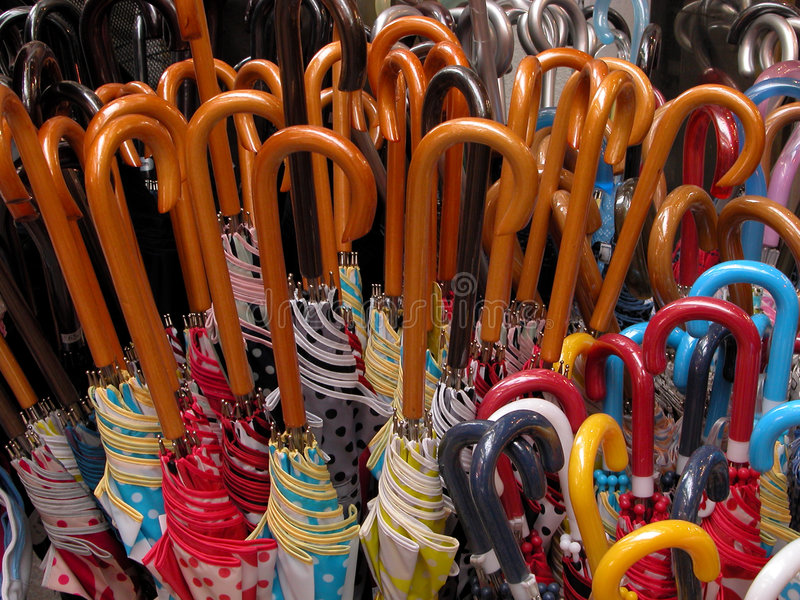 Download Umbrellas stock image. Image of handles, umbrella, industry - 82305