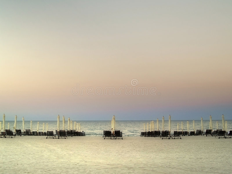 Download Umbrellas on the beach stock photo. Image of lounge, relaxing - 5843638