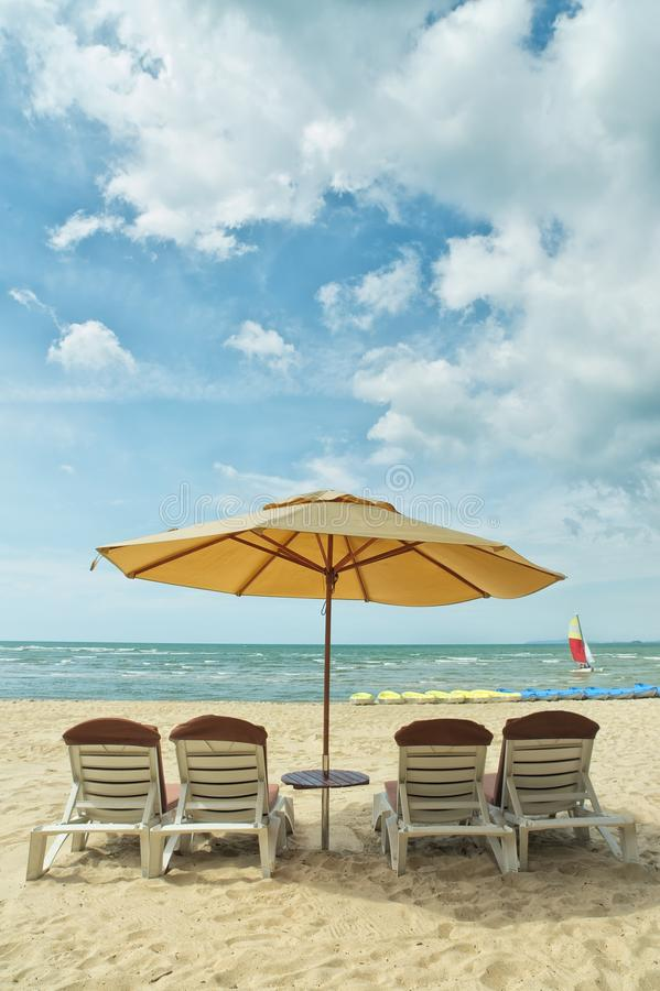 Download Umbrellas and benches stock photo. Image of malaysia - 25530078