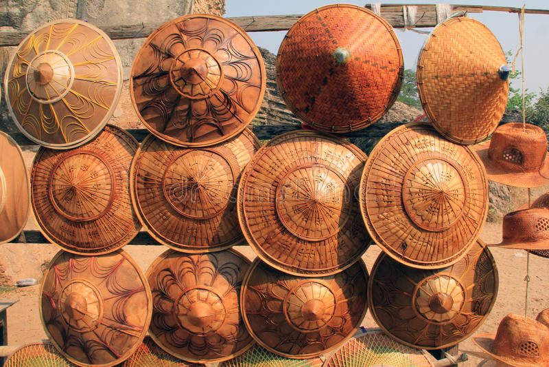 Umbrellas for sale stock photo