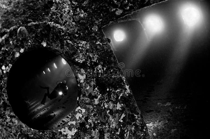 Umbria Wreck arkivbild