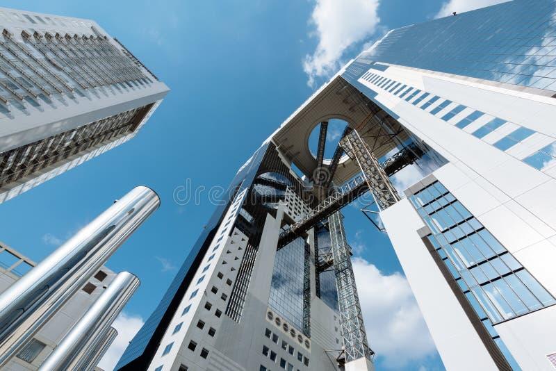 Umeda Sky Building in Osaka. stock images