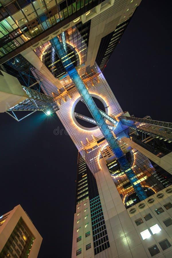 Umeda Skybyggnad arkivbild