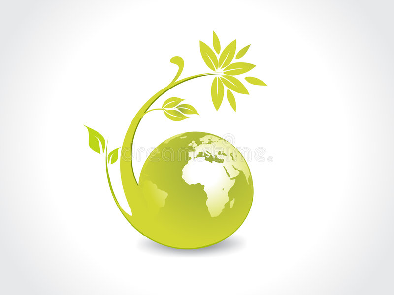 Umgebungs-Kugel stock abbildung