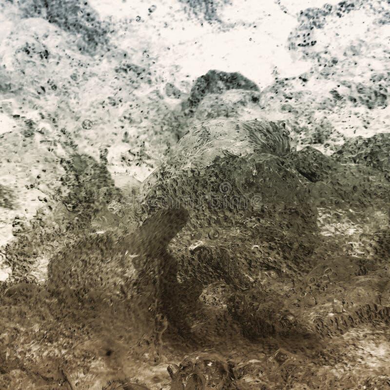 Umgekehrtes Wasser lizenzfreie stockfotos