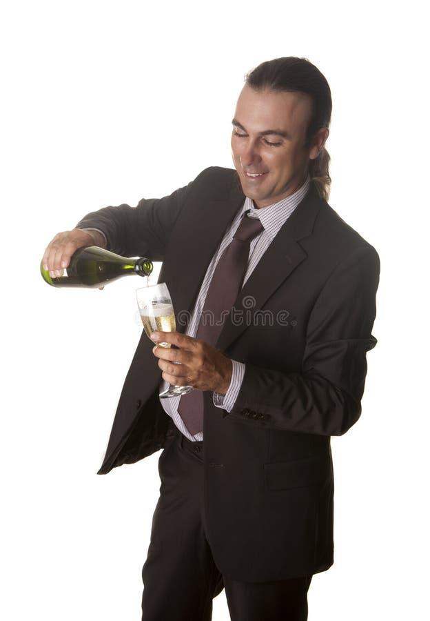Download Umhüllungchampagner In Der Party Stockfoto - Bild von gelegenheit, jahr: 26361350