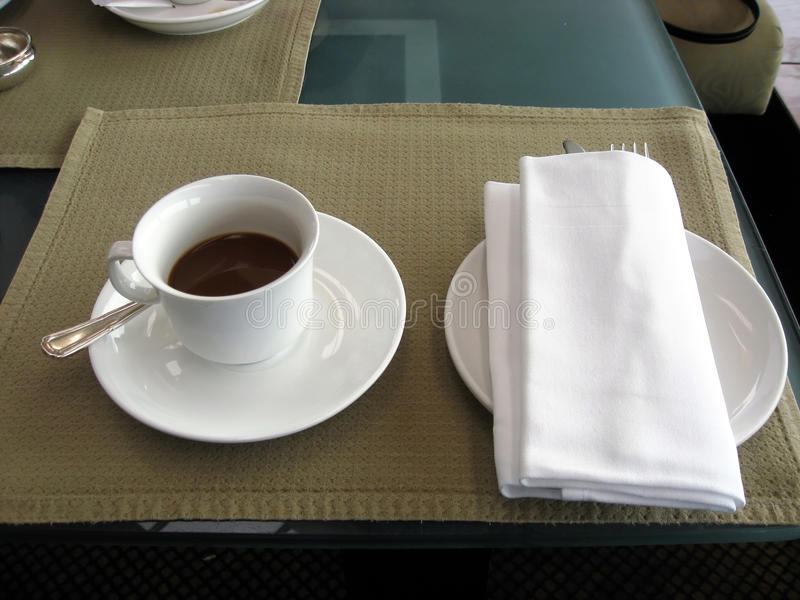 Umhüllungkaffeenahaufnahme lizenzfreies stockbild