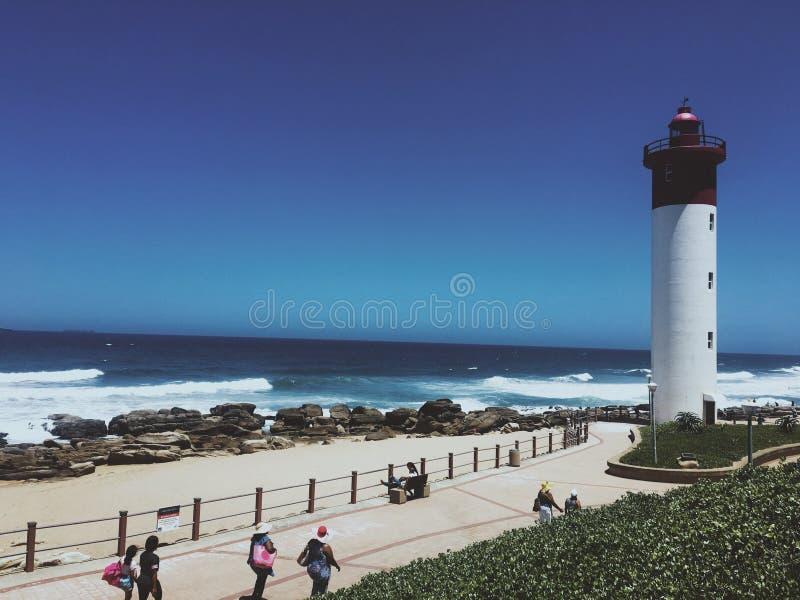 Umhlanga-Leuchtturm lizenzfreies stockfoto