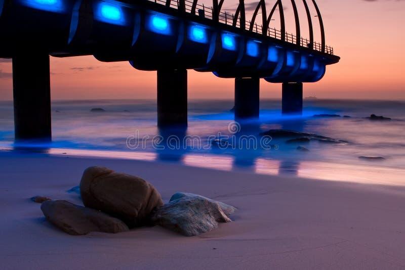 Download Umhlanga Pier sunrise stock photo. Image of outdoors - 13126580