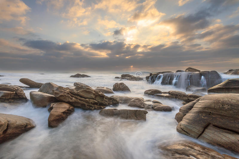 Umhlanga Rocks royalty free stock image