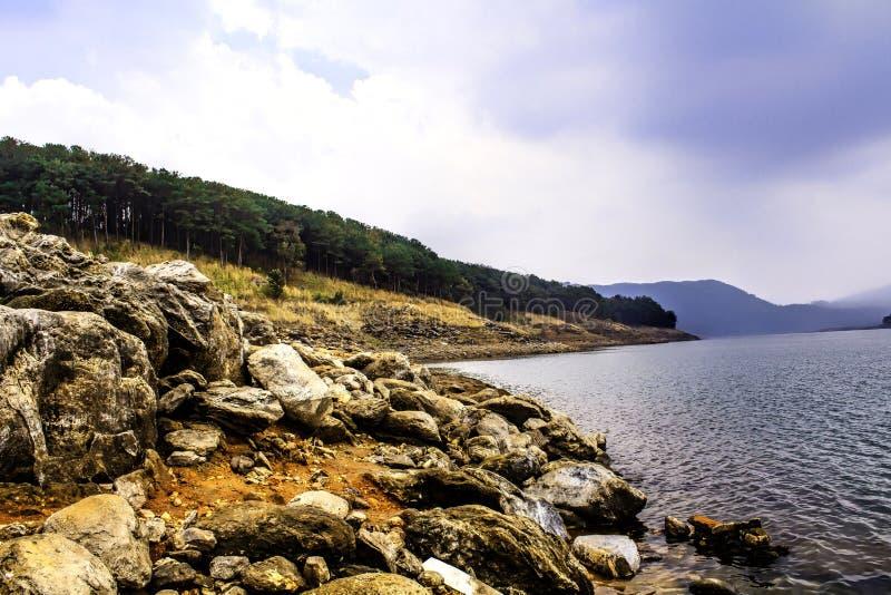 Umiam Lake, Shillong royalty free stock photography