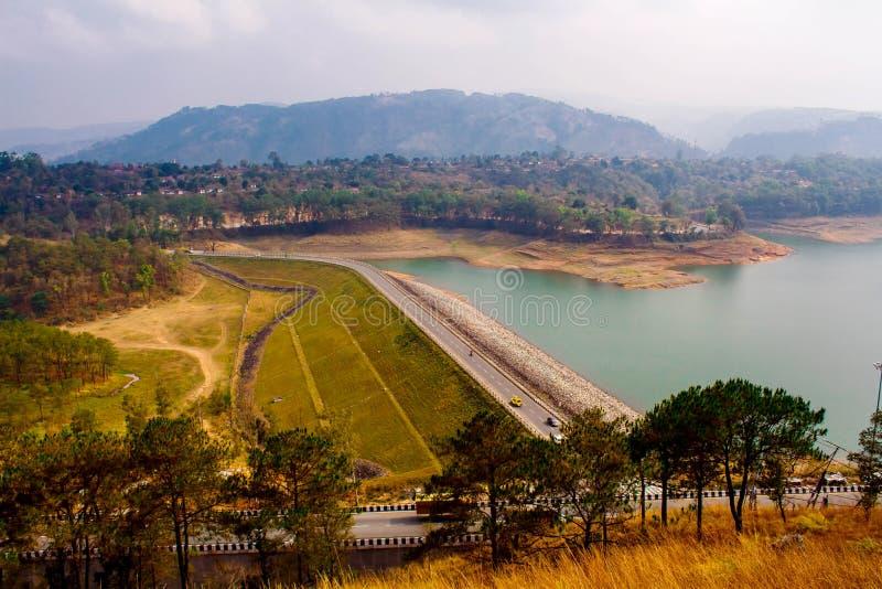 Umiam Lake, Shillong royalty free stock photo