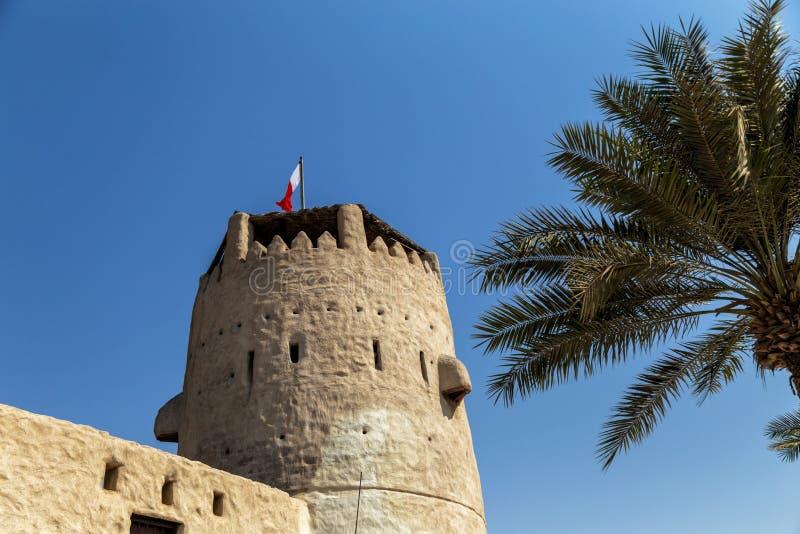 Umm Al Quwain Museum - gli Emirati Arabi Uniti fotografia stock
