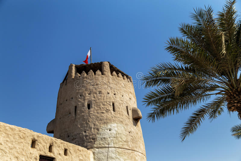 Umm Al Quwain Museum - Verenigde Arabische Emiraten stock foto