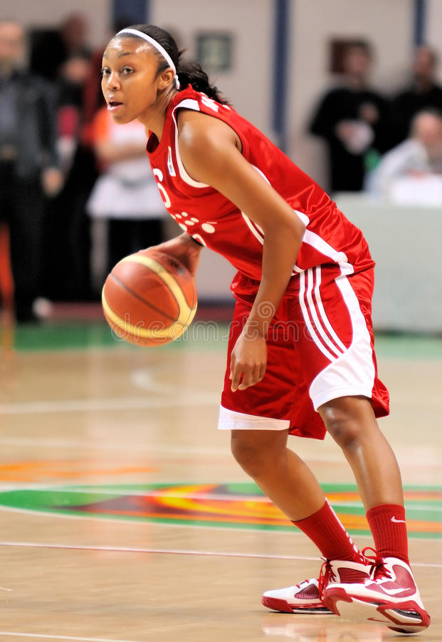 Free UMMC Vs TEO. Women Basketball Euroleague 2009-2010 Royalty Free Stock Images - 11586149