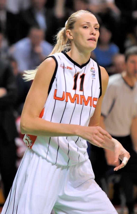 Download UMMC Vs TEO. Women Basketball Euroleague 2009-2010 Editorial Stock Image - Image: 11586389