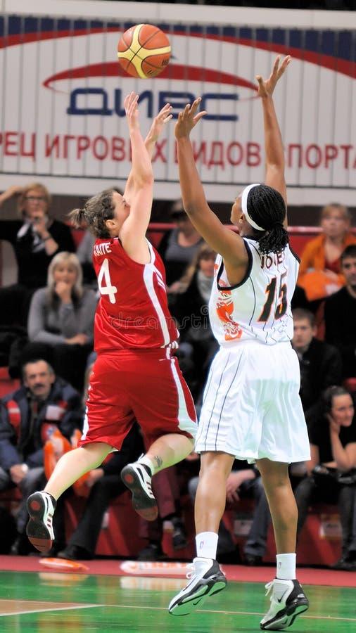 Free UMMC Vs TEO. Women Basketball Euroleague 2009-2010 Royalty Free Stock Images - 11586489