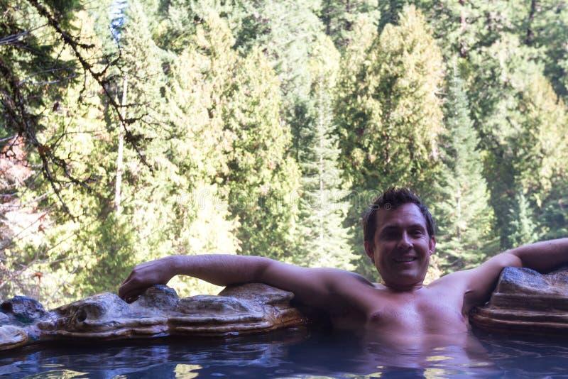 Umpqua Hot Springs royaltyfri foto