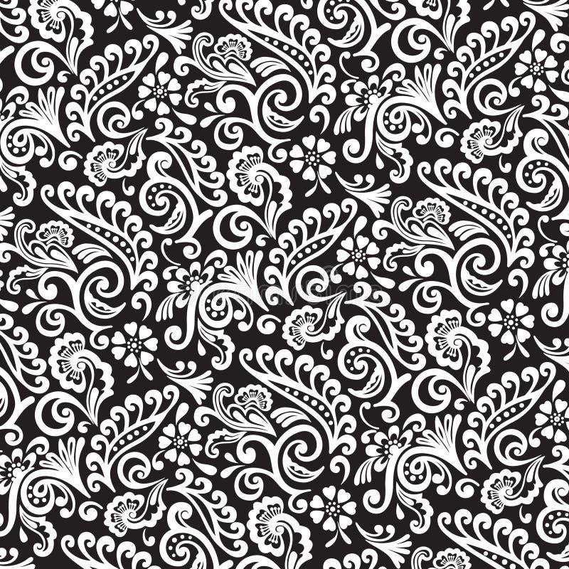 Umrissenes viktorianisches Muster stockfotografie