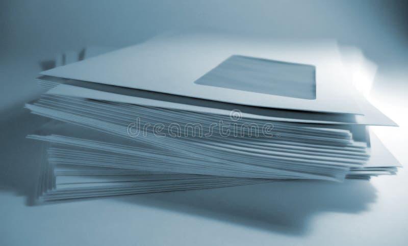 Umschläge lizenzfreies stockfoto