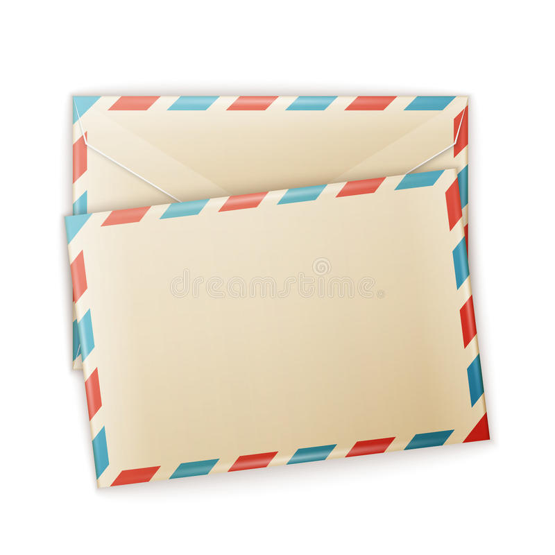Umschlag stock abbildung