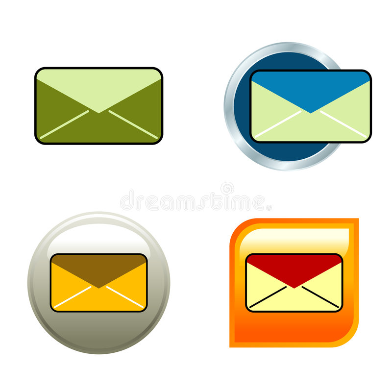 Umschlag-Ikonen