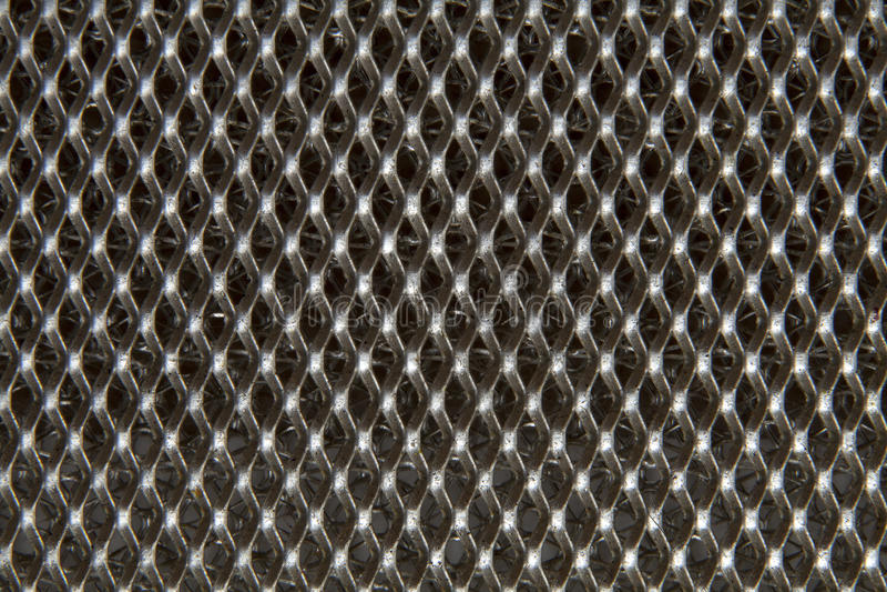 Umsponnenes Metall lizenzfreie stockbilder