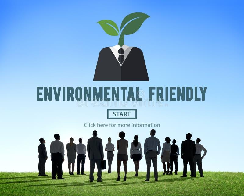 Umweltfreundlich gehen Konzept der natürlichen Ressourcen grünes lizenzfreie stockfotografie