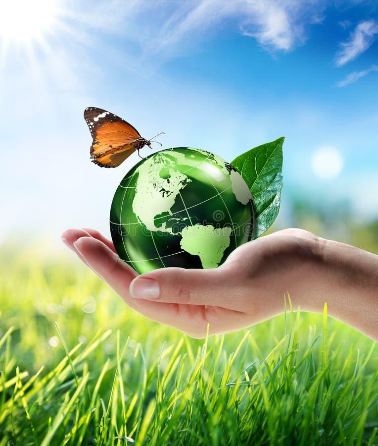 Umweltfreundliches Konzept lizenzfreie stockfotos