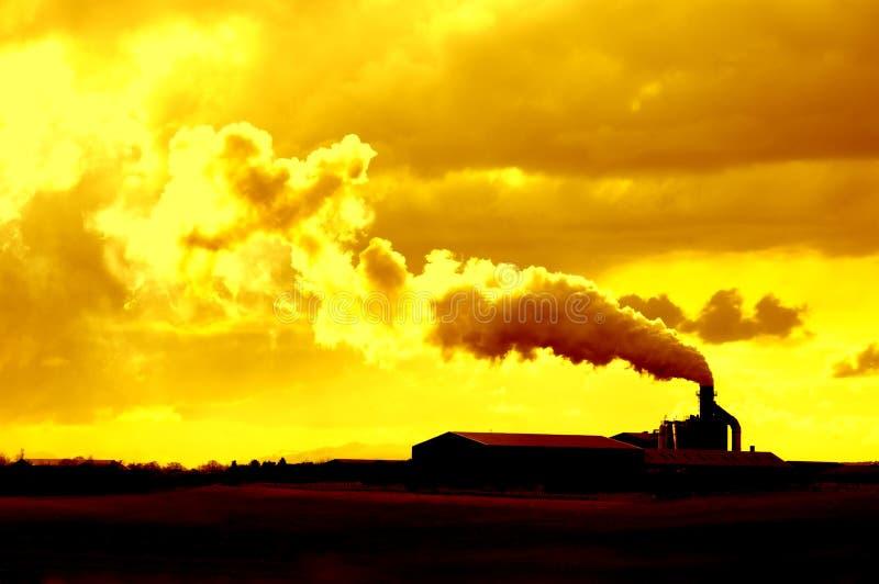 Umweltgefahr lizenzfreies stockfoto