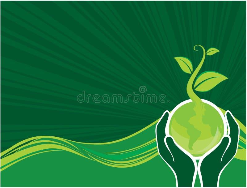 Umwelthintergrund lizenzfreie abbildung