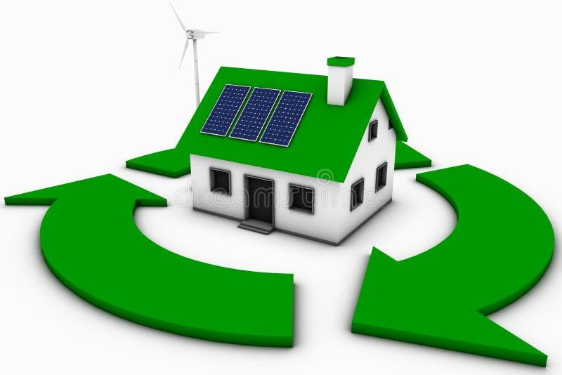 Umweltinteresse lizenzfreie abbildung