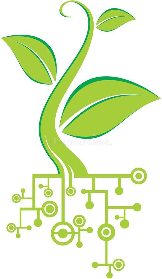 Umweltset lizenzfreie abbildung
