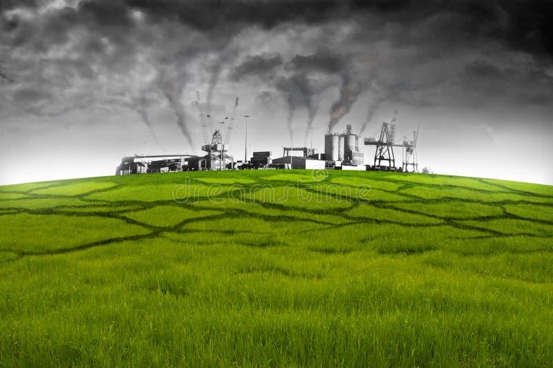 Umweltverunreinigung lizenzfreie stockfotografie