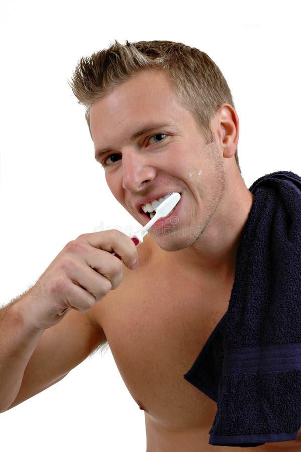 umyć zęby. fotografia royalty free