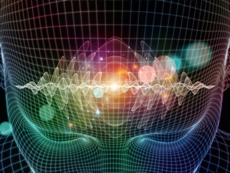 Umysł energia ilustracji