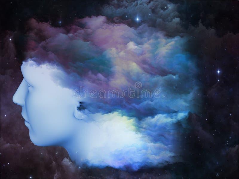 Umysł mgła ilustracja wektor